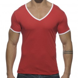 Basic Colors T-Shirt - Red Addicted
