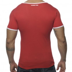 T-Shirt Basic Colors Rouge Addicted
