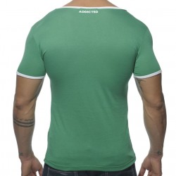 T-Shirt Basic Colors Vert Addicted