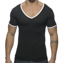 T-Shirt Basic Colors Noir Addicted