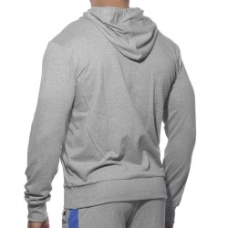 Veste French Terry Hoody Grise Addicted