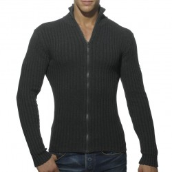 Gilet Ribbed Anthracite ES Collection