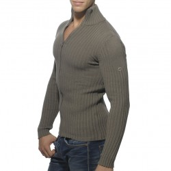 Gilet Ribbed Gris ES Collection