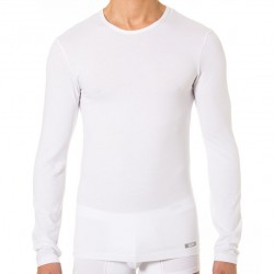 T-Shirt Manches Longues Thermal Effect Blanc DIM
