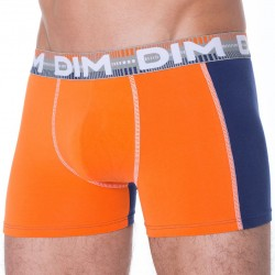 Lot de 2 Boxers 3D Flex Dymanic Mandarine - Gris DIM