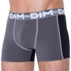 Lot de 2 Boxers 3D Flex Dymanic Noir - Gris DIM