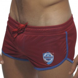 Short de Bain Mini Curved Rouge Addicted