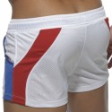 World Swim Short - White