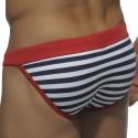 Sailor Bikini Swim Brief - Sailor - Red
