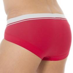 Slip Basic Stretch Cotton Laque Rouge Emporio Armani