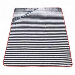 Drap de Bain Marin Rouge ES Collection