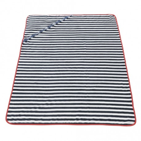 Sailor Contrast Towel - Red