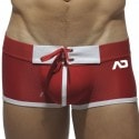 Mesh Boxer With Tabs - Red