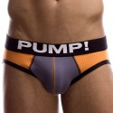 Touchdown Tiger Brief - Orange - Grey