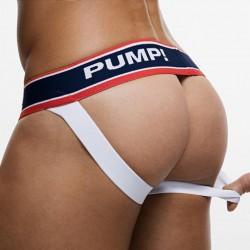 Jock Strap Fever Rouge - Blanc Pump!