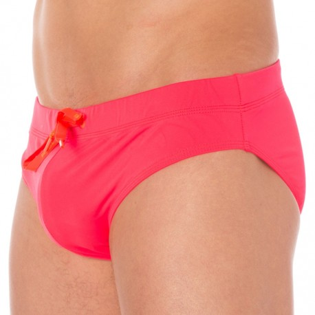Fresh & Bright Swim Brief - Fuchsia