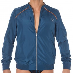 Veste Fresh & Bright Réversible Bleue - Orange Diesel