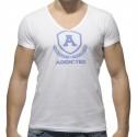 T-Shirt Varsity Blanc