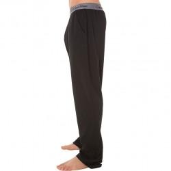 Pantalon Cotton Modal Noir Calvin Klein
