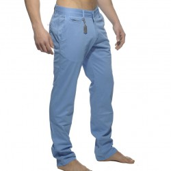 Pantalon Chino Coton Bleu ES Collection