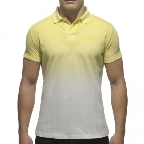 Degraded Color Polo - Yellow