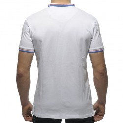 Polo Rounded Shield Blanc ES Collection