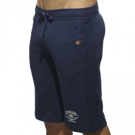 Detailed Pocket Bermuda Shorts - Navy