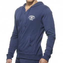 Veste Hoody Detailed Pocket Marine ES Collection