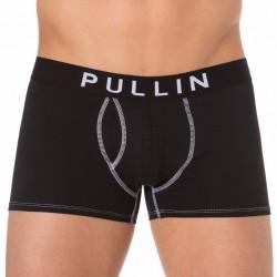 Shorty Coton Noir Pullin
