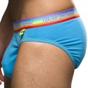Almost Naked Pride Brief - Turquoise