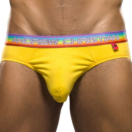 Almost Naked Pride Brief - Yellow