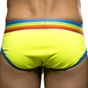 Slip Blow! Pride Almost Naked Jaune Fluo