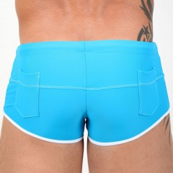 Shorty de Bain Pipeline Turquoise Pistol Pete