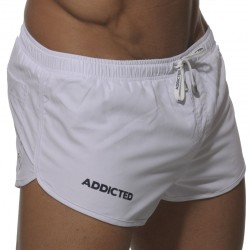 Short de Bain Curves Blanc Addicted