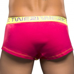 Boxer Twerk Tagless Rouge Fluo Andrew Christian