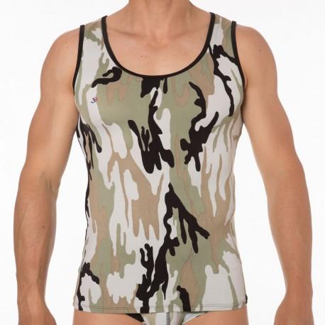 Débardeur Sheer Camouflage