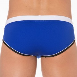 Oceanic Swim Brief - Electric Blue Tribe