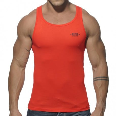Basic Tank Top - Orange