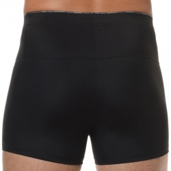 Boxer Long Slim Noir HOM
