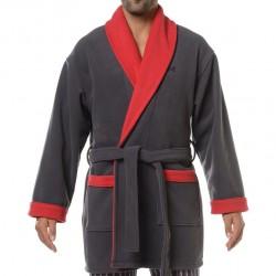 Robe de Chambre Courte K-Luxe Grise HOM