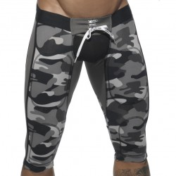 Pantalon Court Empty Bottom Camouflage Addicted
