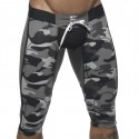 Bottomless Knee Length Pants - Camouflage