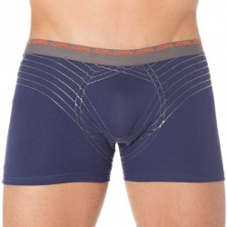 Lot de 2 Boxers Ultimate Orange - Bleu DIM