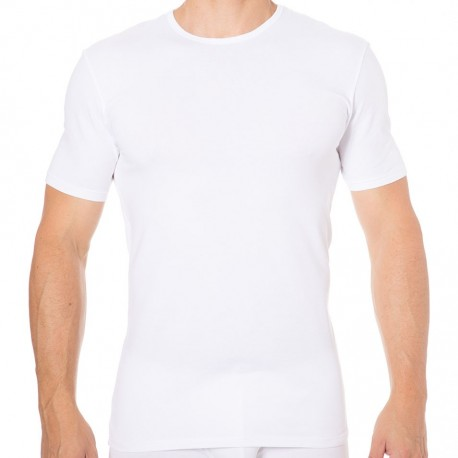 2-Pack Dry & Cool Round-Neck T-Shirts - White