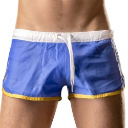 Albane Short - Blue - White Barcode