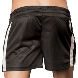Mesut Short - Black Barcode