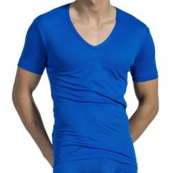 T-Shirt V-Neck RED 1516 Royal Olaf Benz