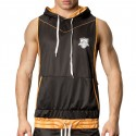 Manuel Hoody - Black -Orange