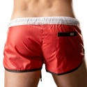 Short Albane Rouge - Blanc