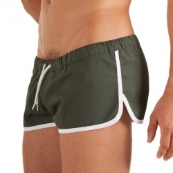 Short Gym Olive Barcode